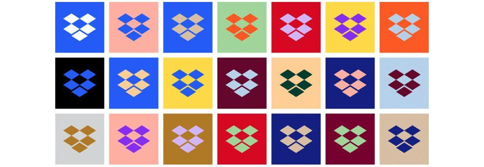 Dropbox Versatile Logo Design