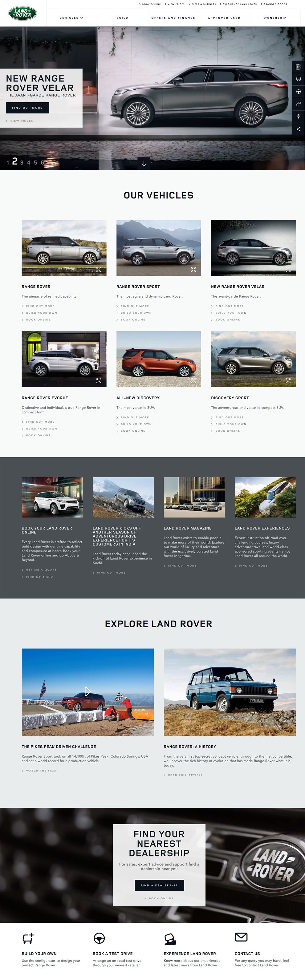 Land Rover India (slide 1)