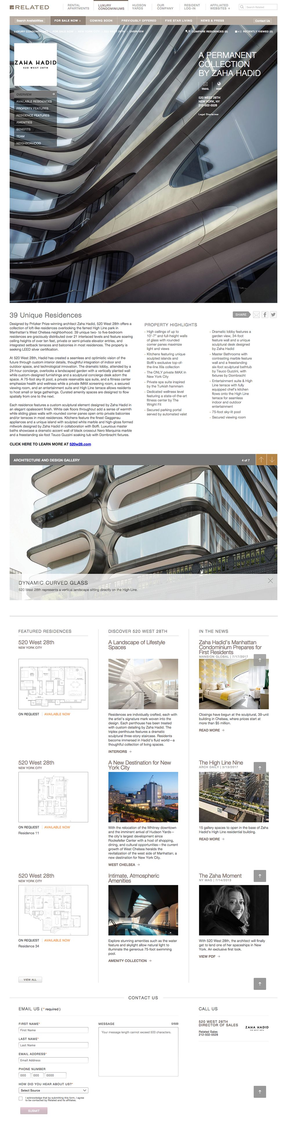 Related Sales Great Website Design Product Page