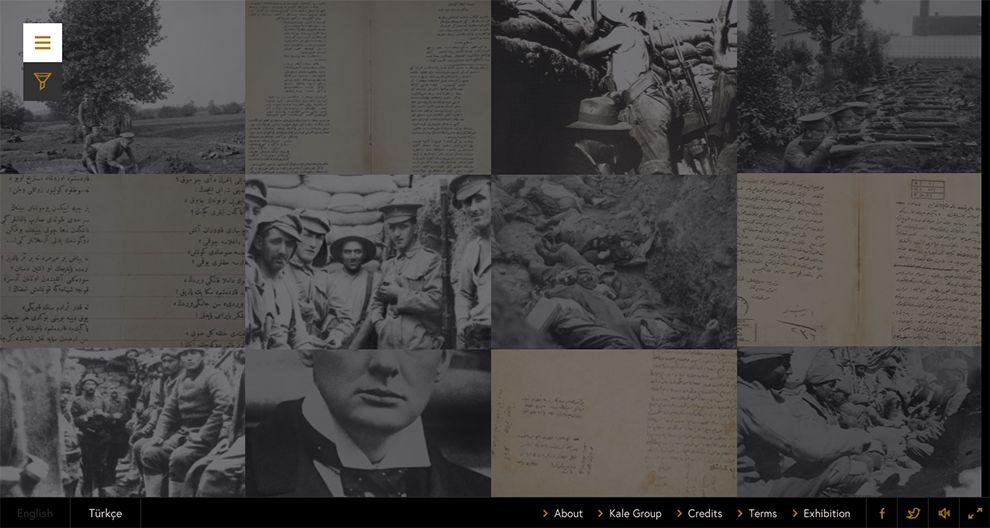 Sons of Gallipoli Emotional Web Design