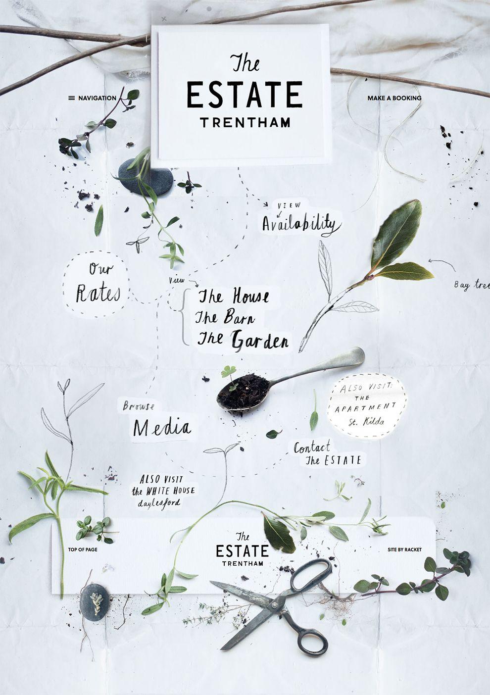 The Estate Trentham Stunning Homepage