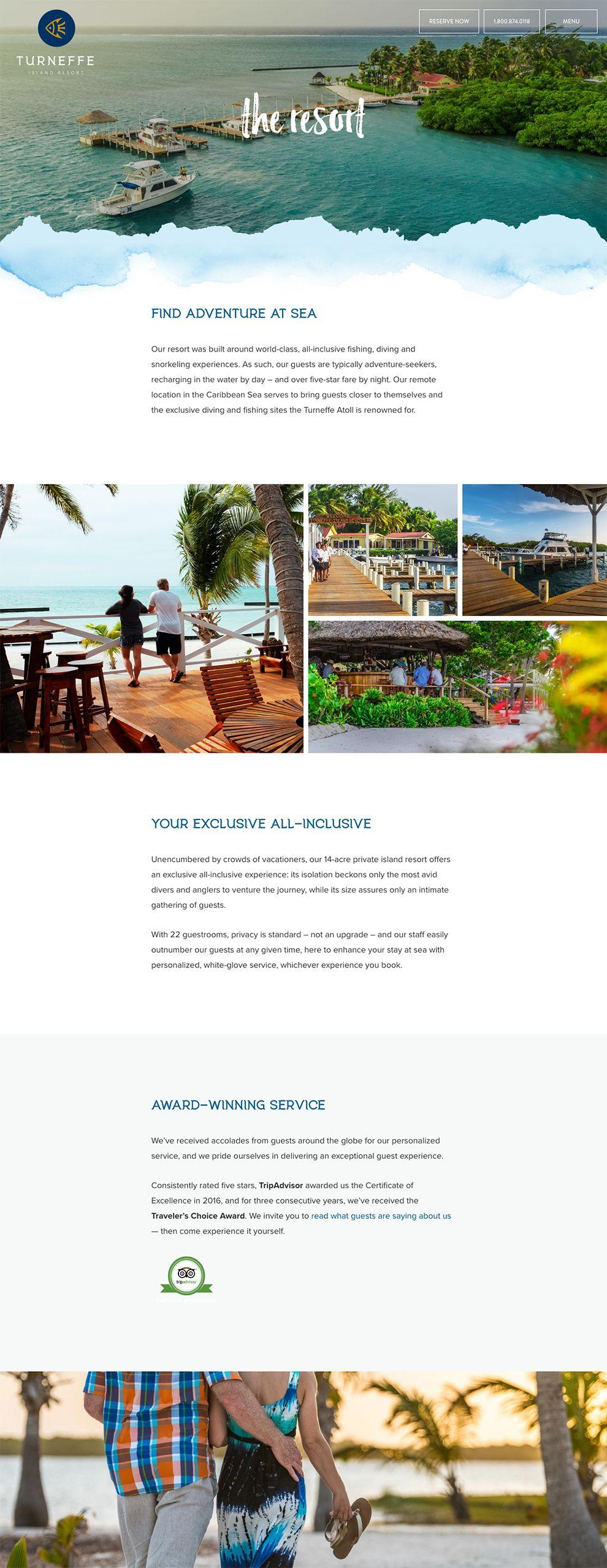 Turneffe Island Resort Beautiful About Page