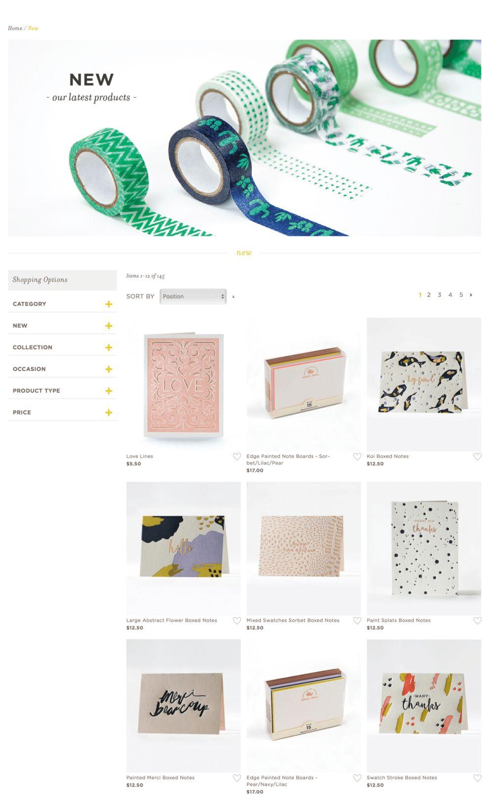 Elum Designs Elegant Product Page