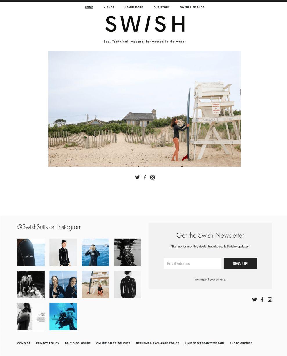 Swish Suits Top Homepage