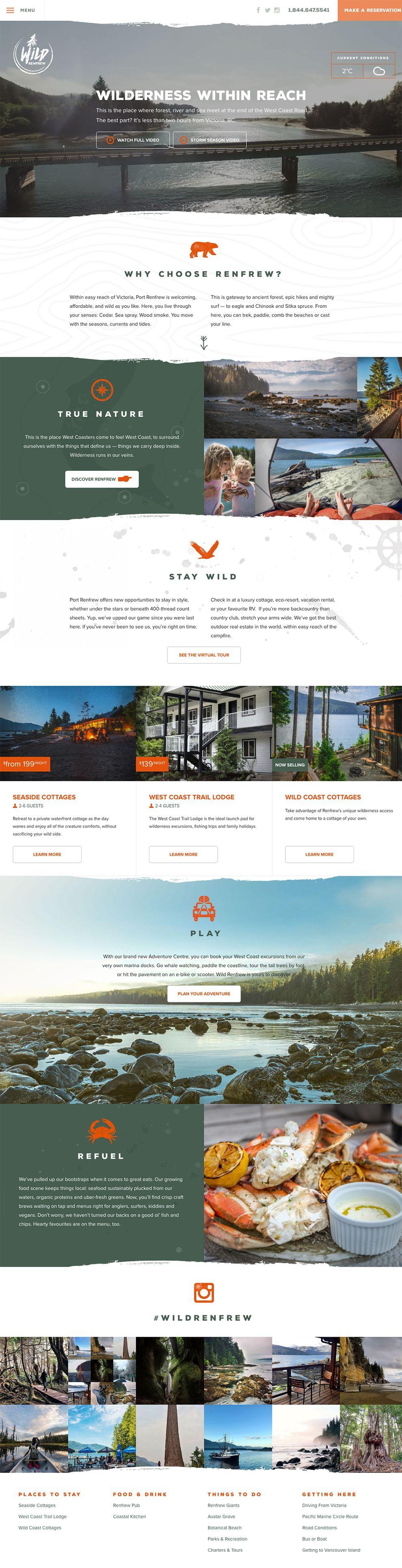 Wild Renfrew Great Homepage