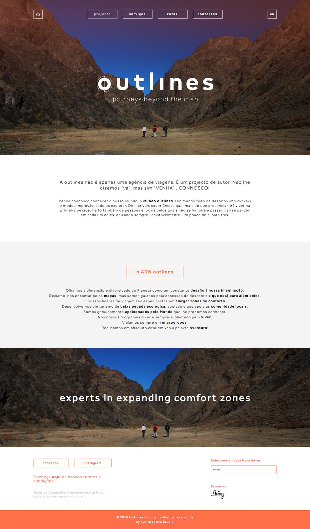 Outlines Amazing Gallery Page