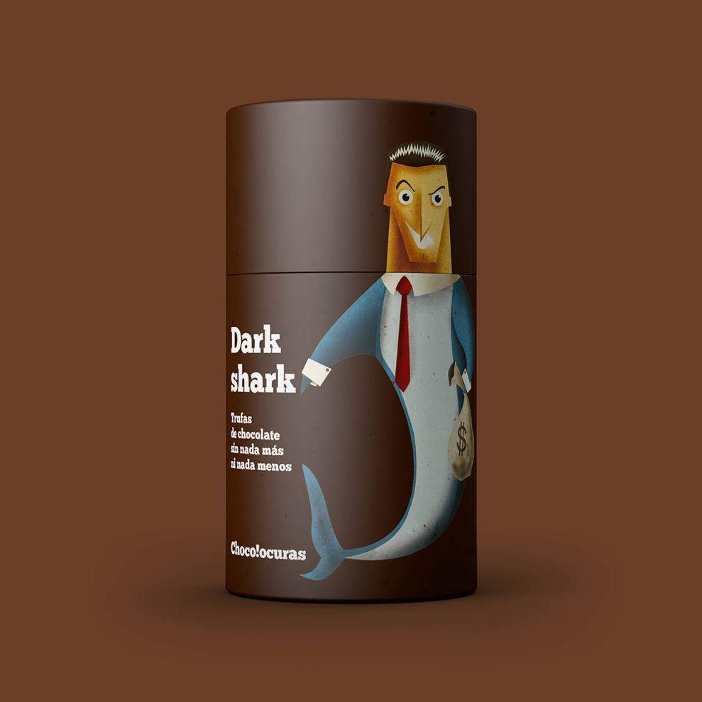 Bronzed Coffee by Chocolocuras Awesome Package Design