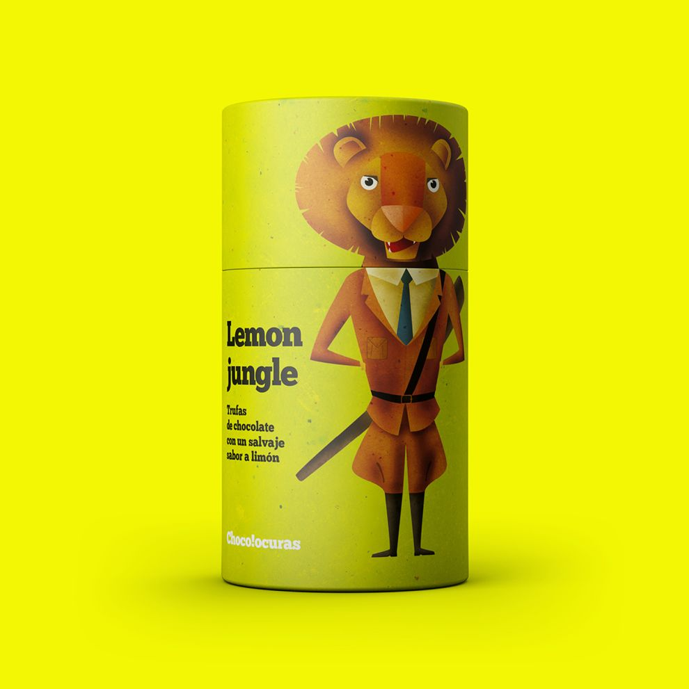 Bronzed Coffee by Chocolocuras Playful Package Design