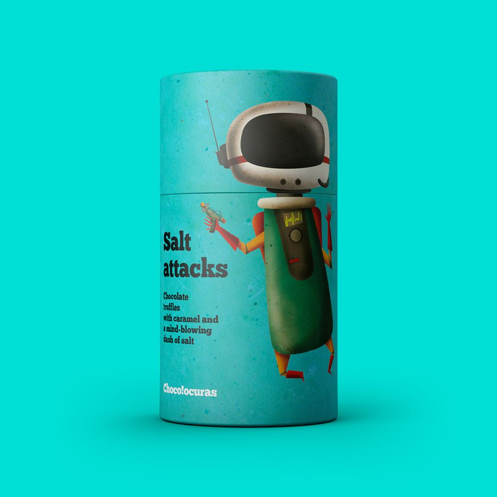 Bronzed Coffee by Chocolocuras Package Design