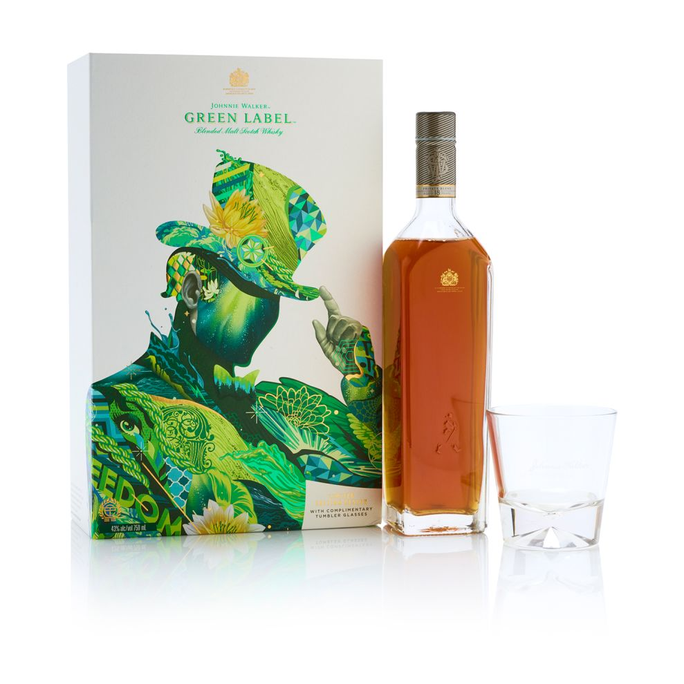 Johnnie Walker Limited Edition Whiskey Exciting Package Design