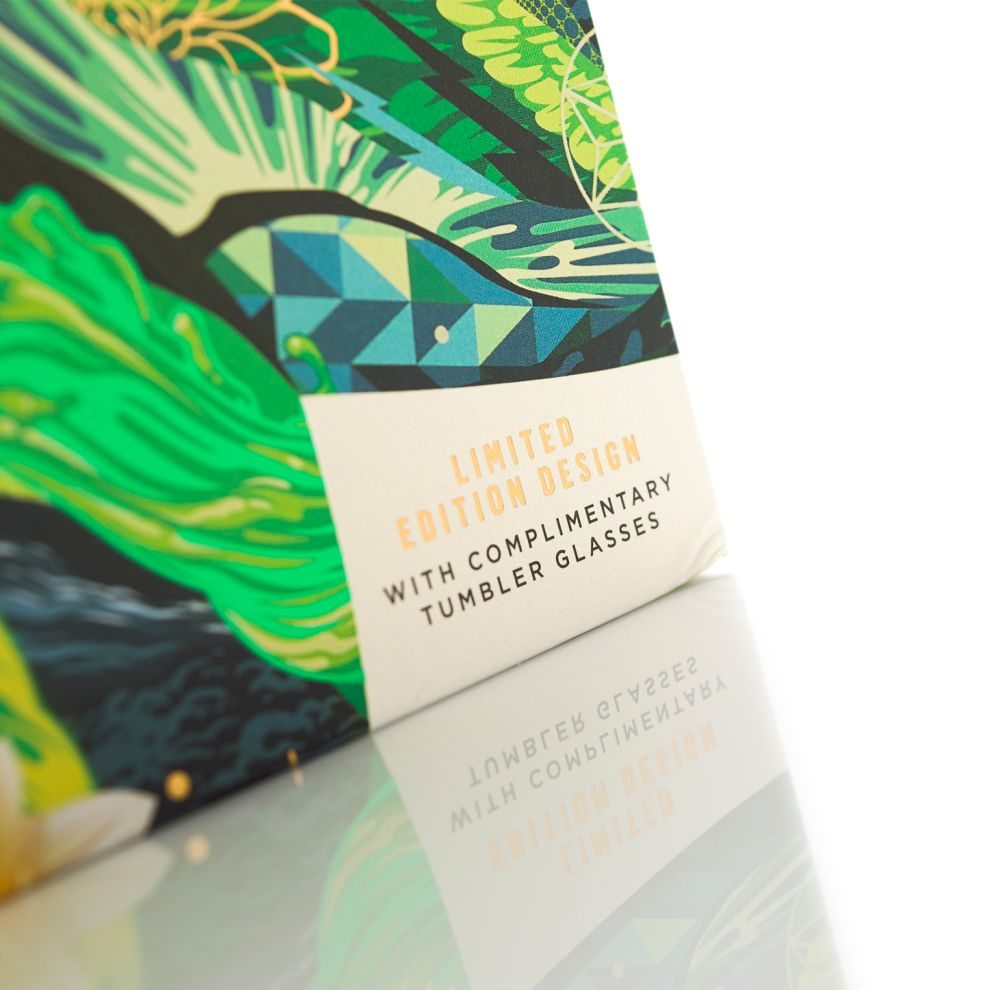 Johnnie Walker Limited Edition Whiskey Beautiful Package Design