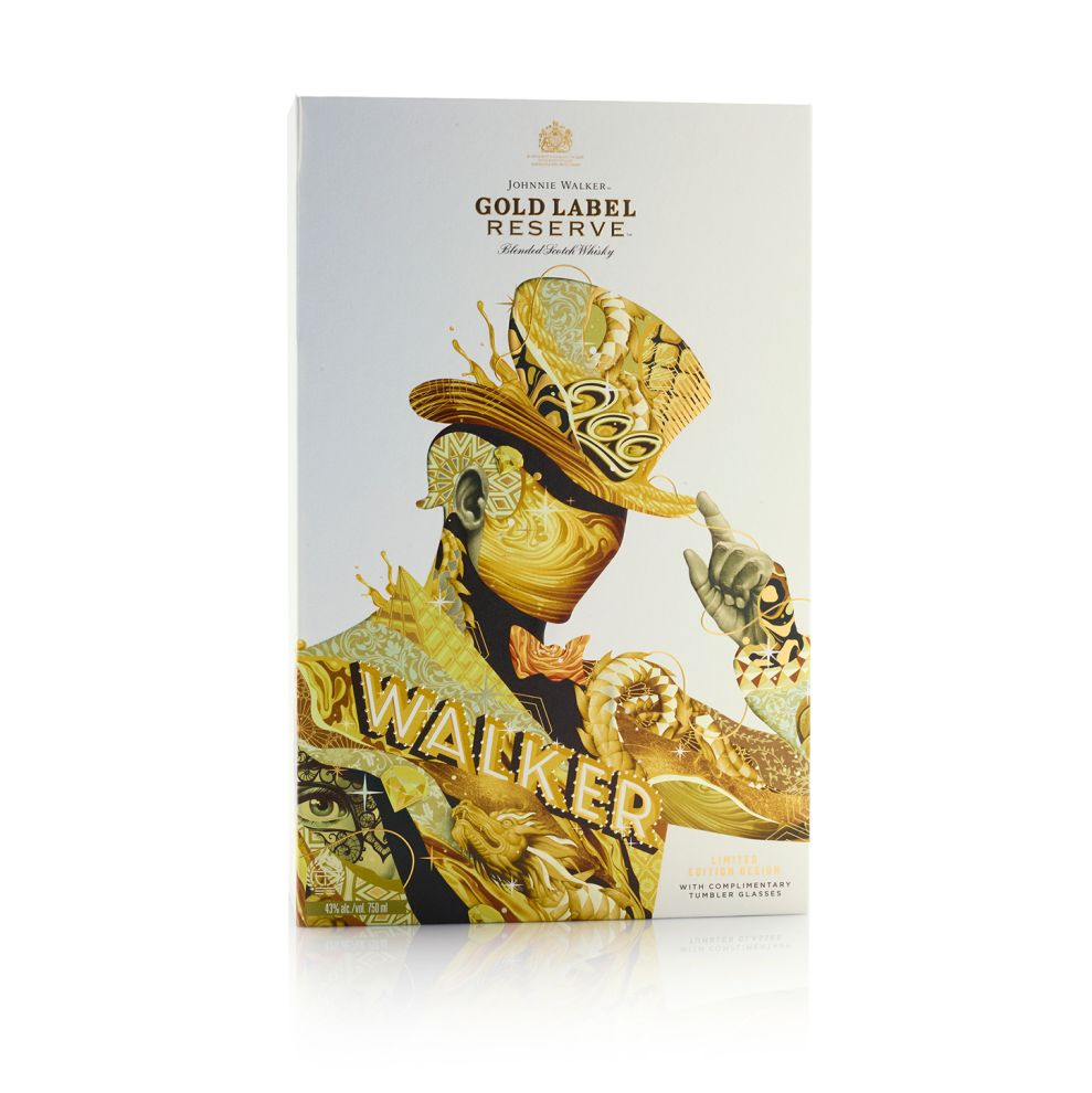 Johnnie Walker Limited Edition Whiskey Package Design