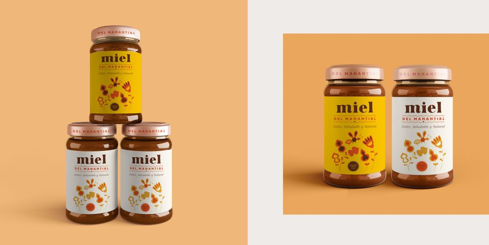 Miel del Manantial Package Design