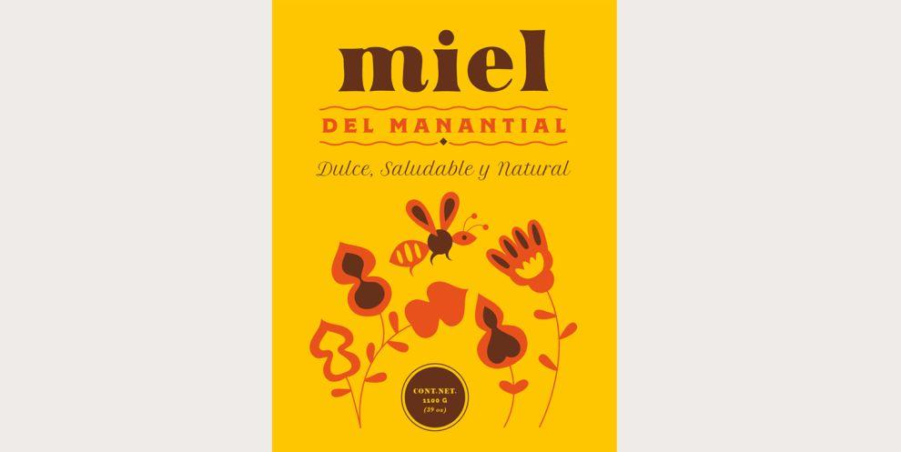 Miel del Manantial Print Design