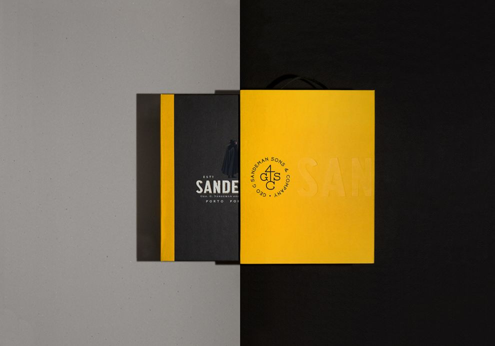 Sandeman Trade Presenter Sleek Package Design