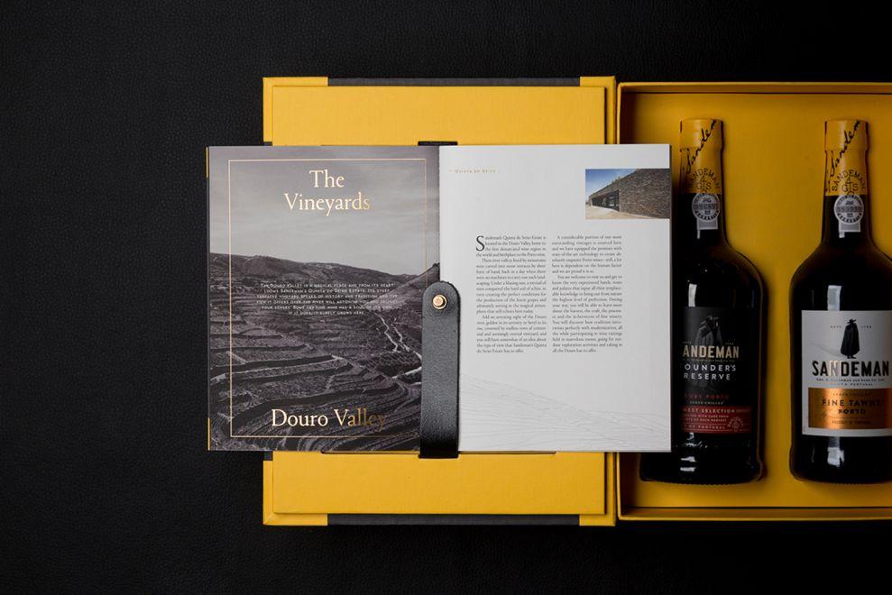 Sandeman Trade Presenter Elegant Package Design