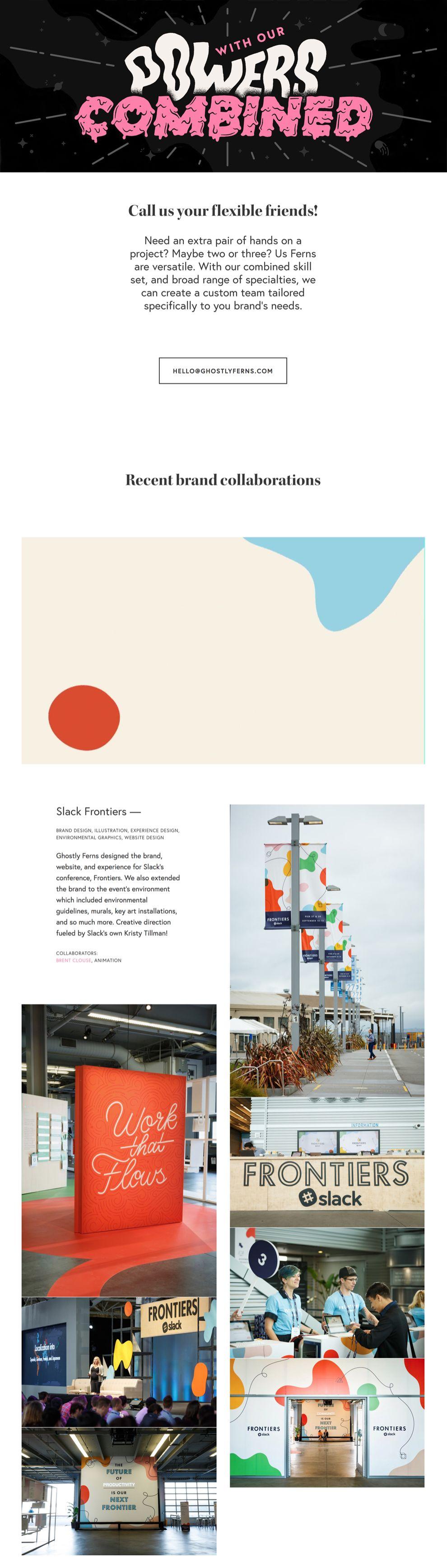 Ghostly Ferns Great Website Design