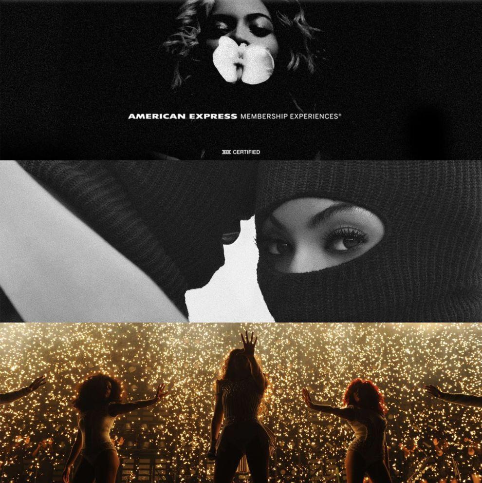 Beyoncé Great Website Design Events