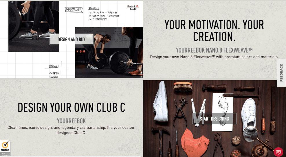 Reebok E-Commerce Website