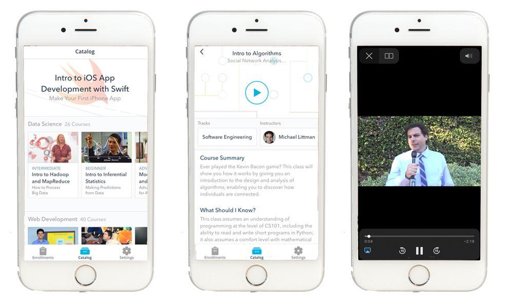 Udacity White App Design