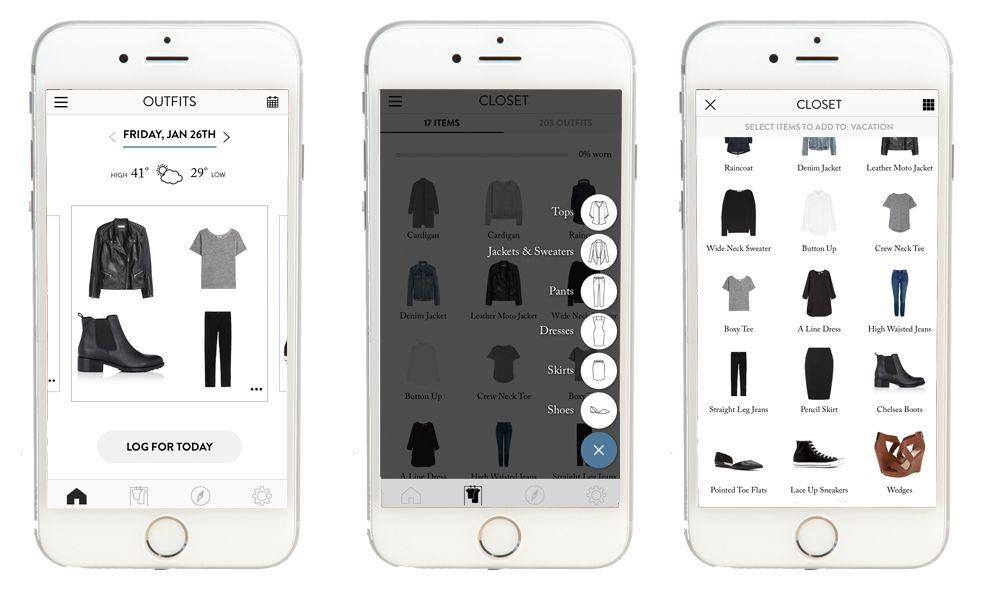 Cladwell Simple App Design