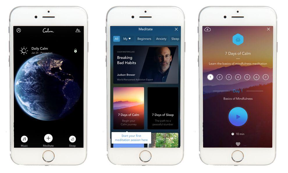 Calm Intuitive App Design
