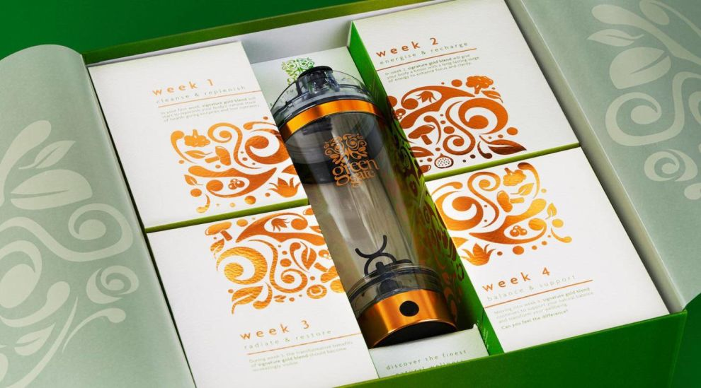 Green Gate London Elegant Package Design