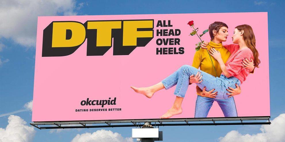 OkCupid Colorful Print Design