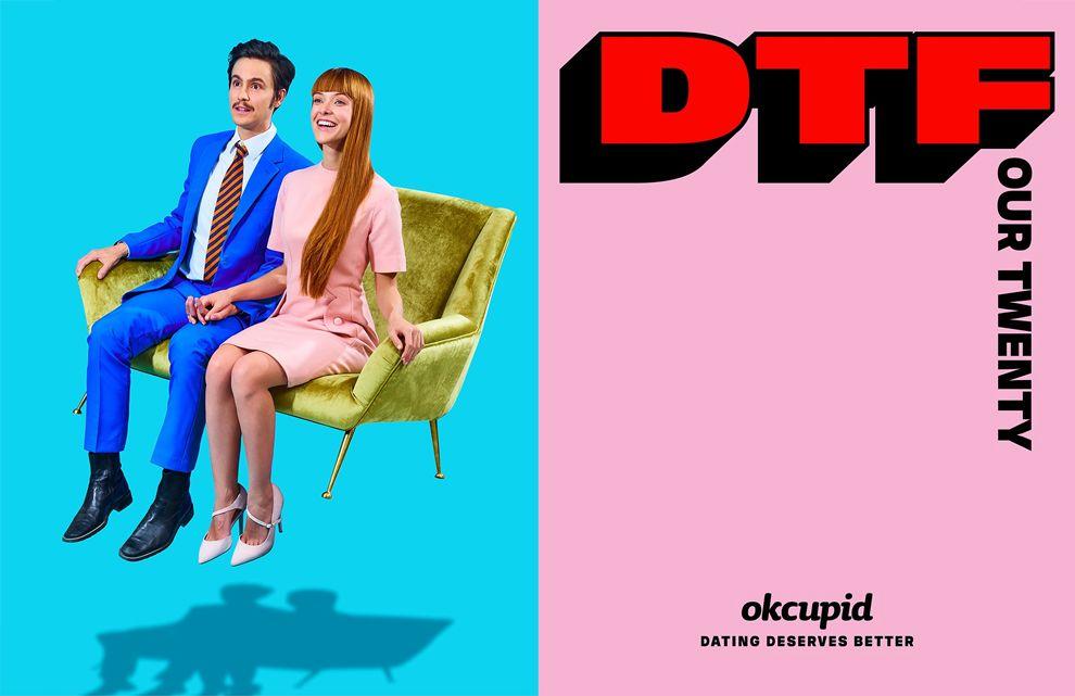 OkCupid Print Design