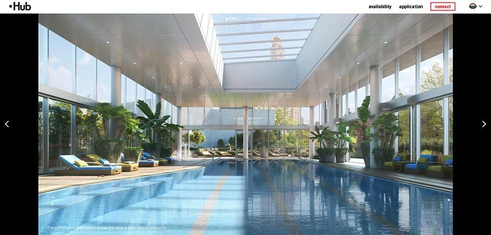 Hub Brooklyn Pool Website Design
