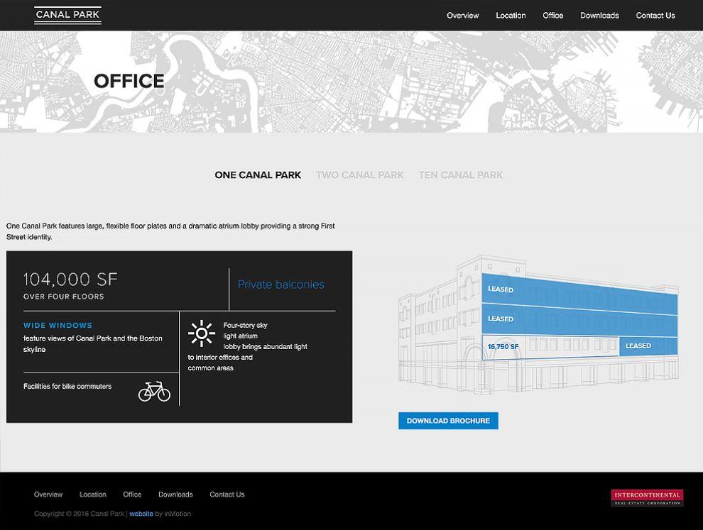 Canal Park Cambridge Best Web Design Contact