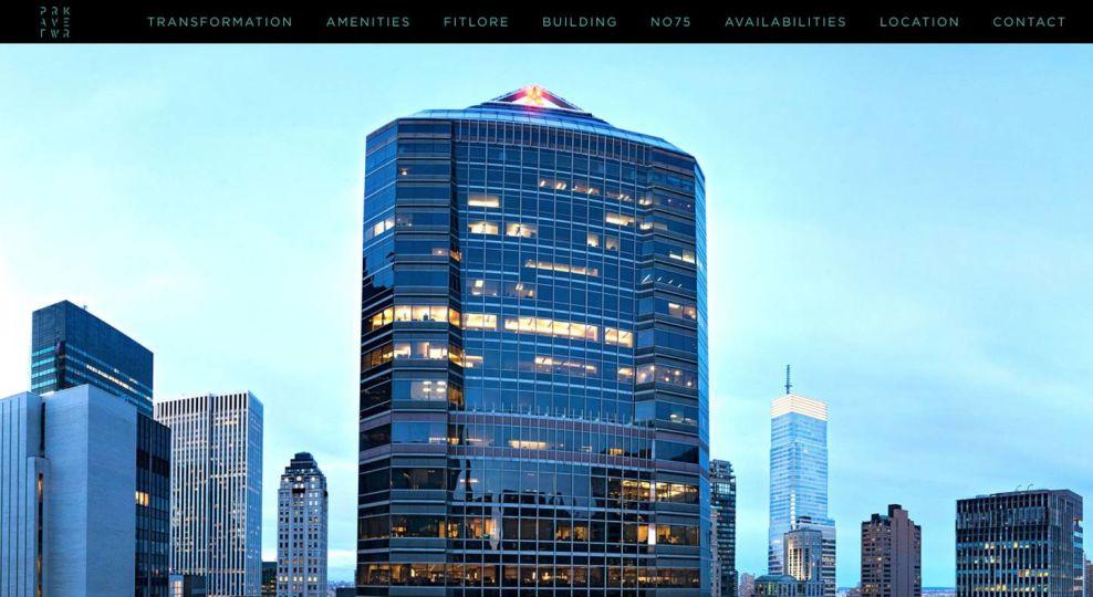 Park Avenue Tower Realty Website Design