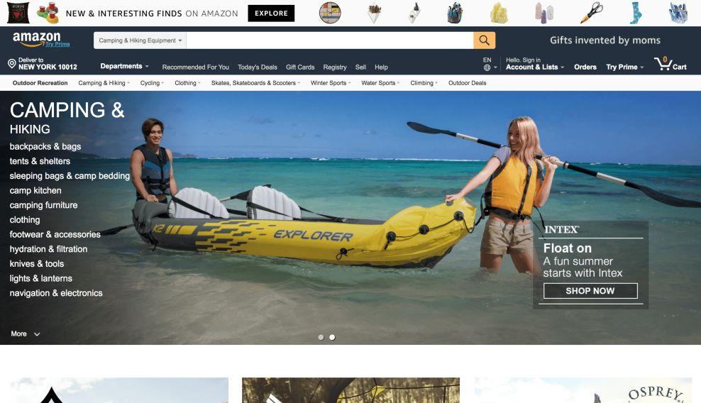 Amazon Great Web Design