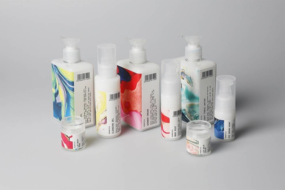 Ozmetics Clean Package Design