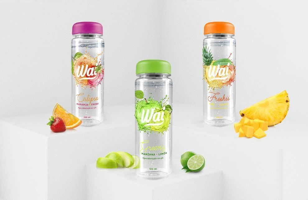 Wai Water Sleek Package Design