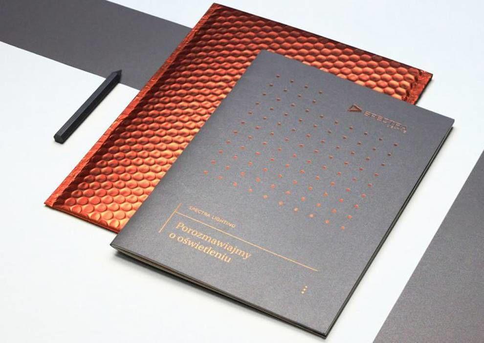 Spectra Lighting Catalog Elegant Print Design