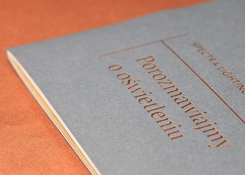 Spectra Lighting Catalog Beautiful Print Design
