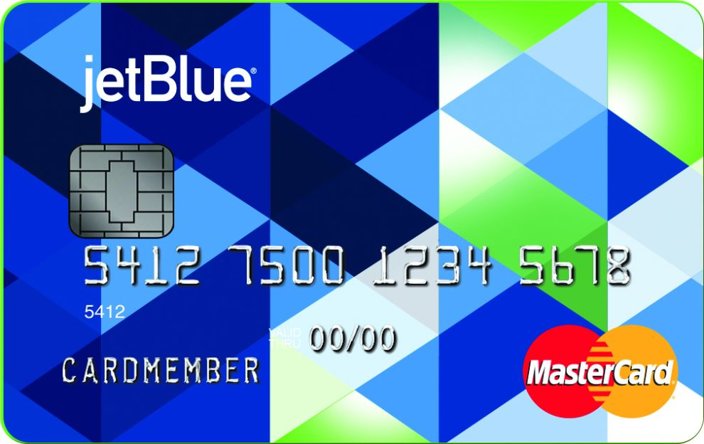 JetBlue Logo Credit Card