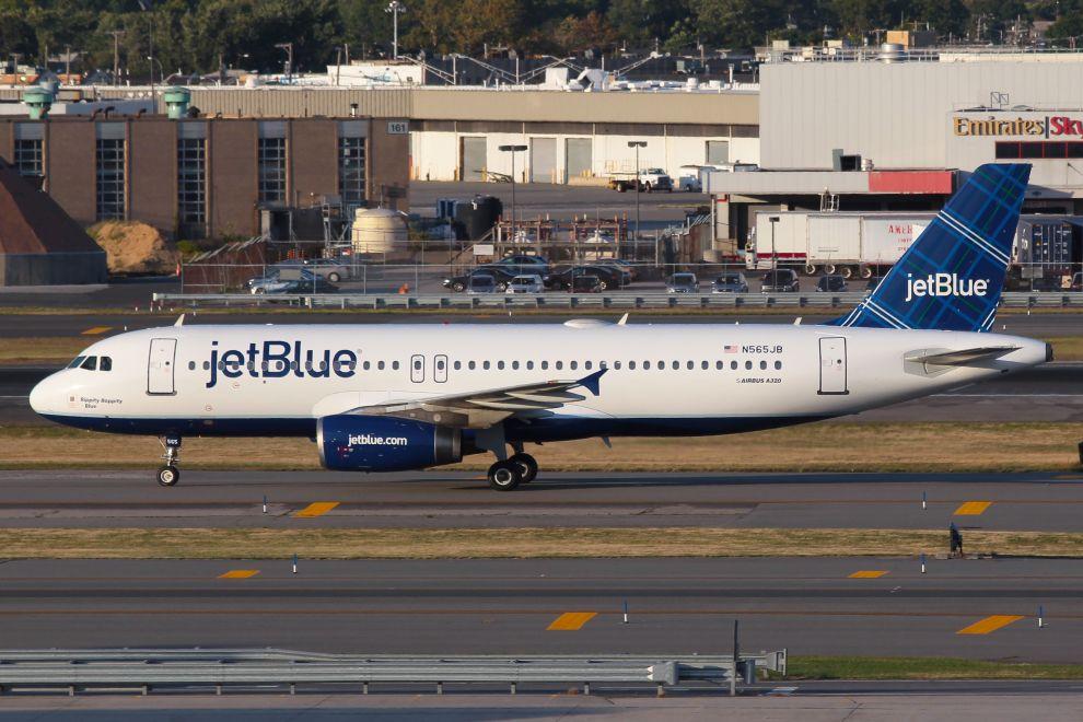 JetBlue Logo Design Airplane