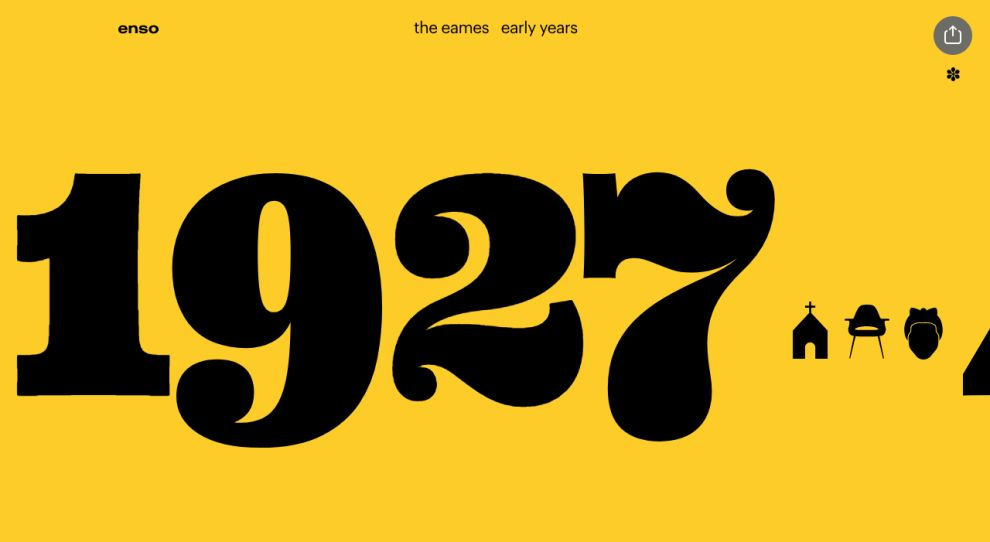 The Eames by Enso Great Website Design