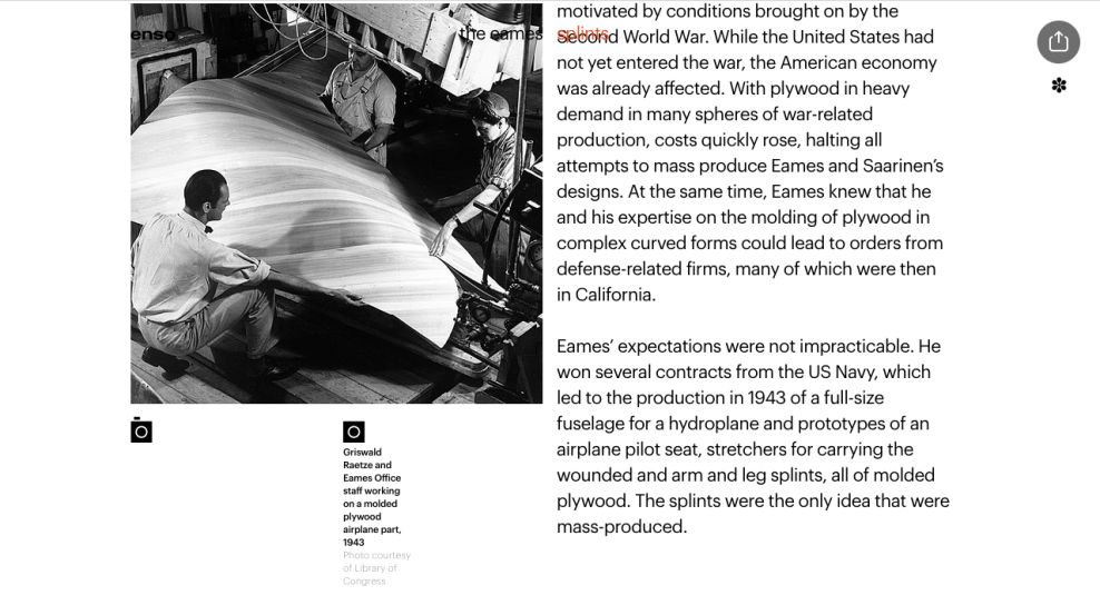The Eames by Enso Product Page