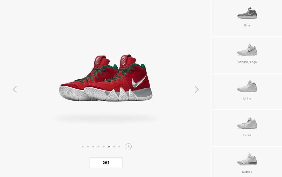 Nike Website Design Kyrie Irving Shoes