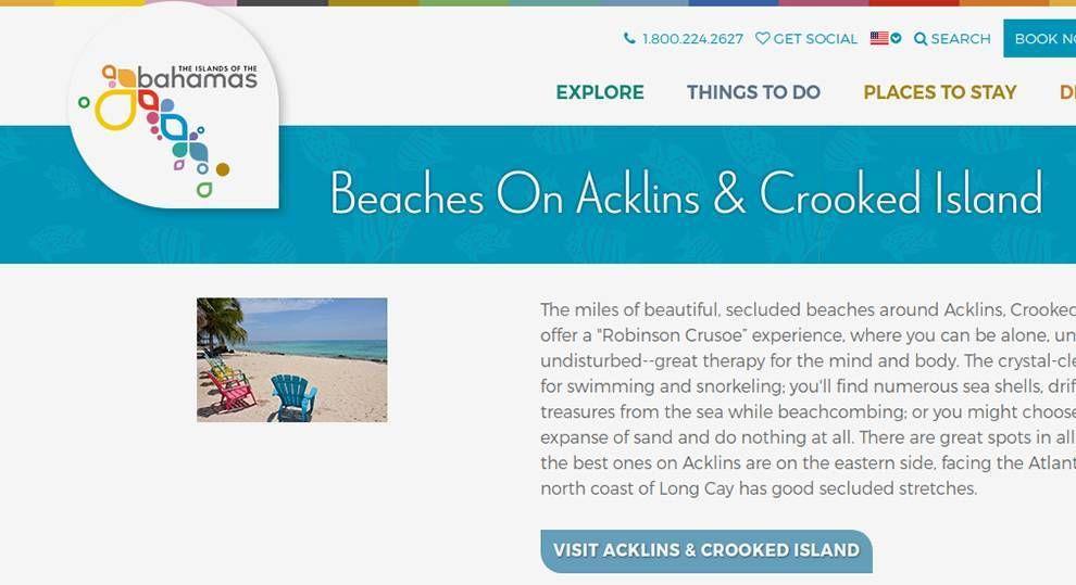 Bahamas Website Design Logo