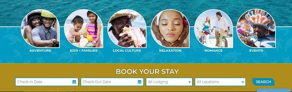 Bahamas Amazing Website Design