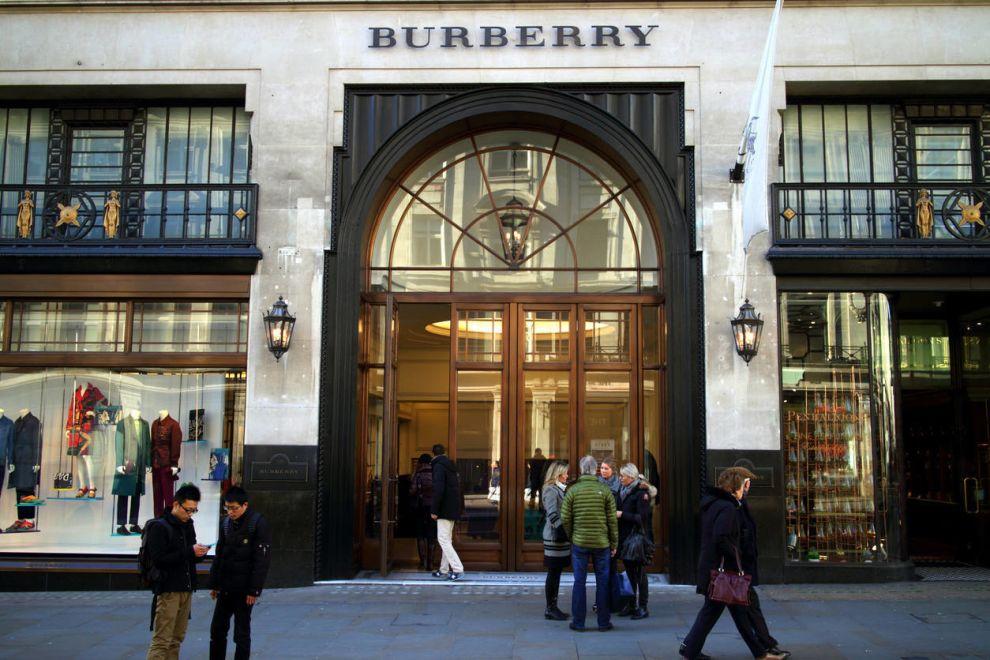 Burberry Store Logo Design