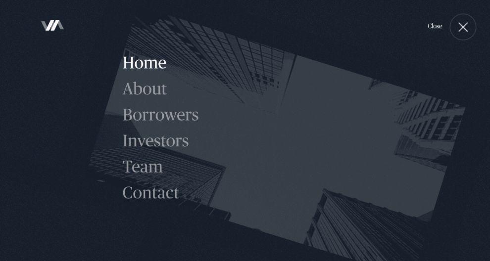 Varagon Website Design Menu
