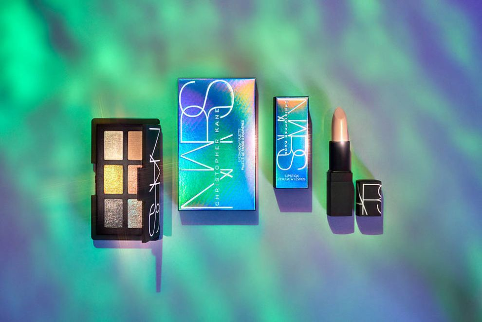 NARS x Christopher Kane Holographic Package Design