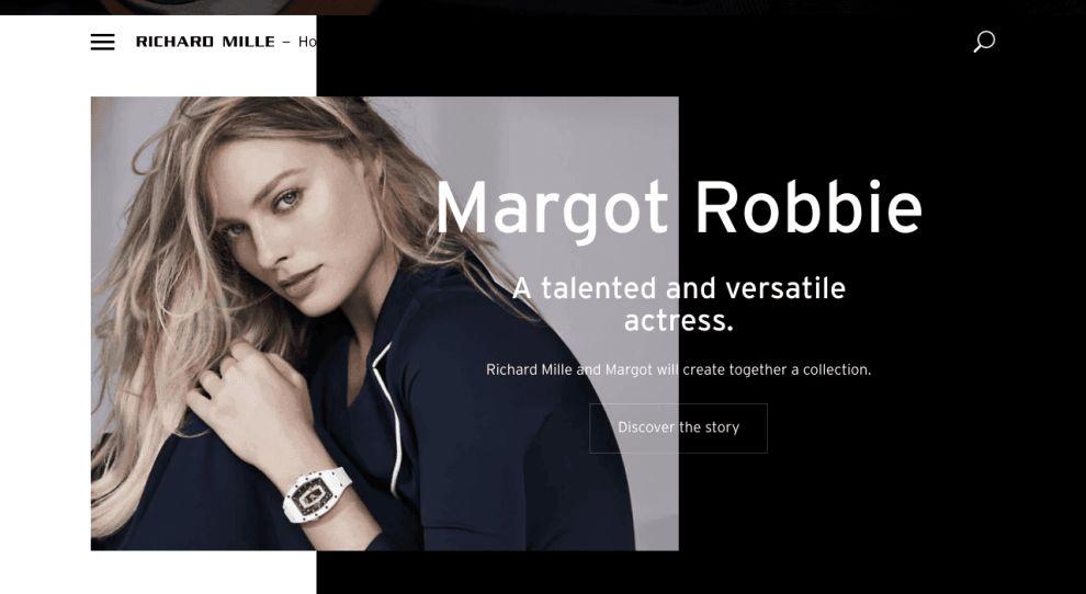Richard Mille Best Web Design Homepage