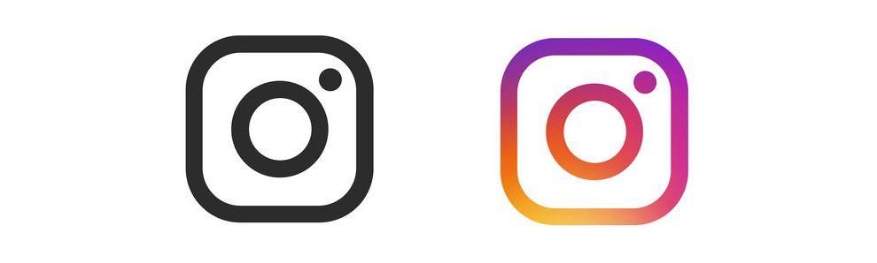 Instagram Logo Glyphs