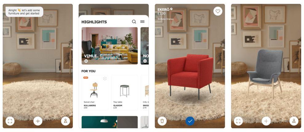 IKEA Place Journey Mobile App